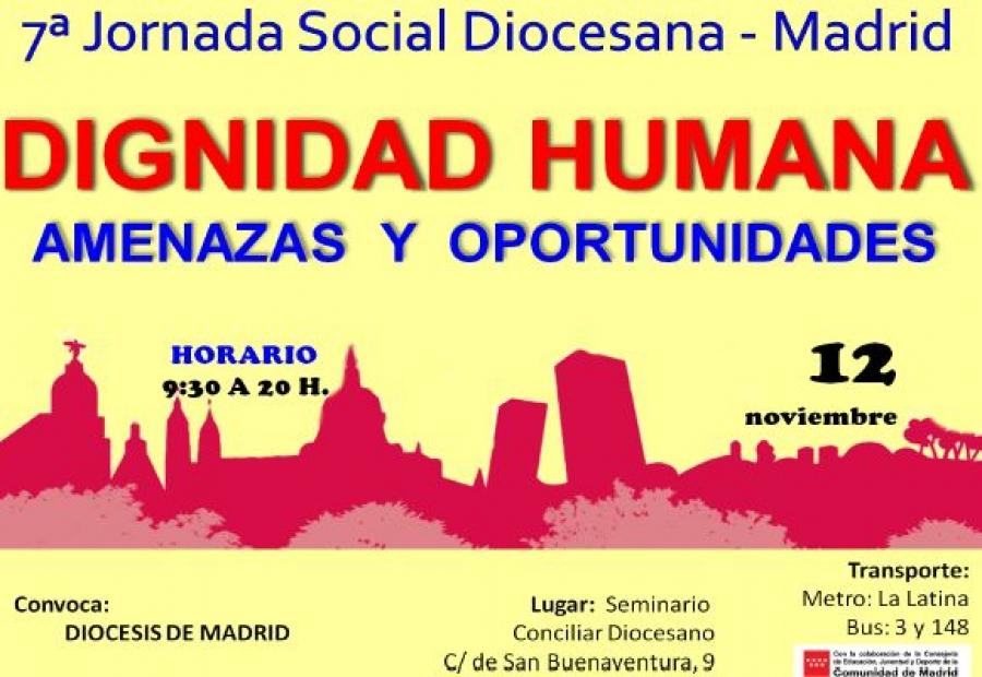 """7ª Jornada Social Diocesana: """"Dignidad humana, amenazas y oportunidades"""""""