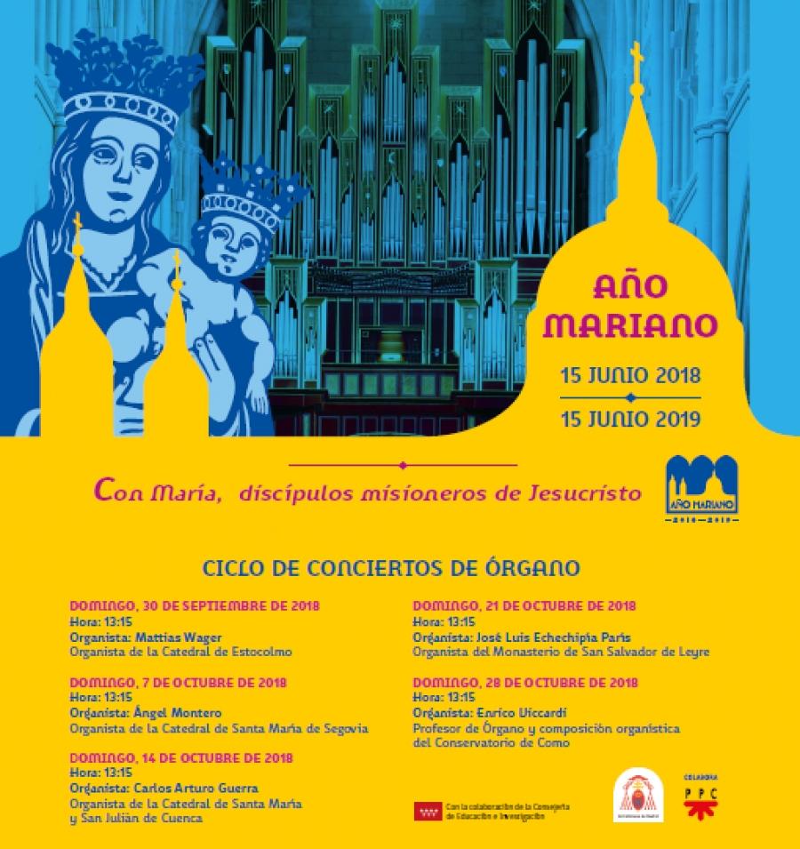 Ciclo de Conciertos de Órgano - Año Mariano