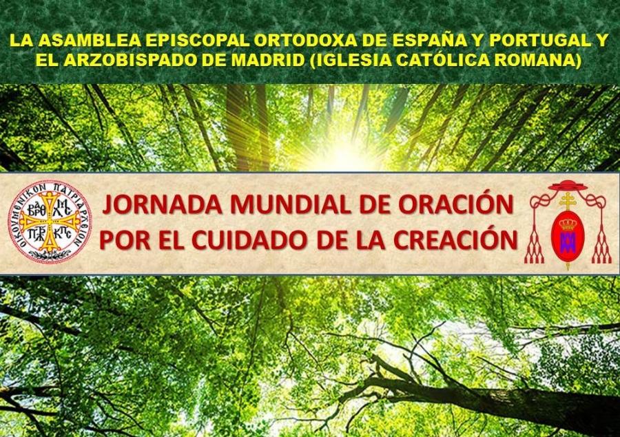JORNADA MUNDIAL DE ORACIÓN POR EL CUIDADO DE LA CREACIÓN