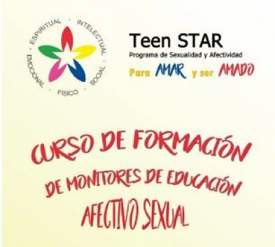 Curso de formación afectivo-sexual de Monitores de Madrid - Teen Star