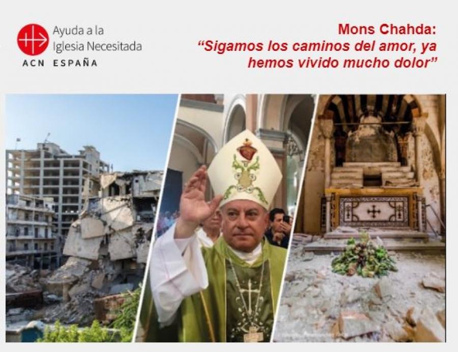 Visita del Arzobispo de Siria a Madrid