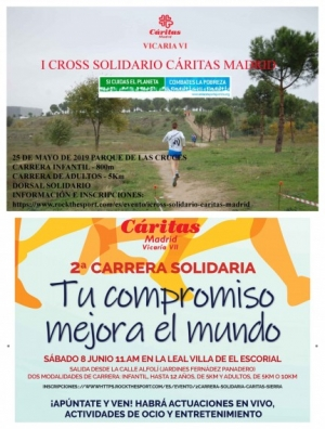Cáritas Madrid - carreras solidarias