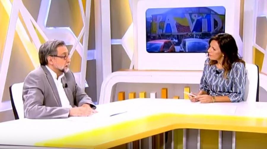 Entrevista a Carlos Aguilar en 13Tv sobre el tercer curso del PDE