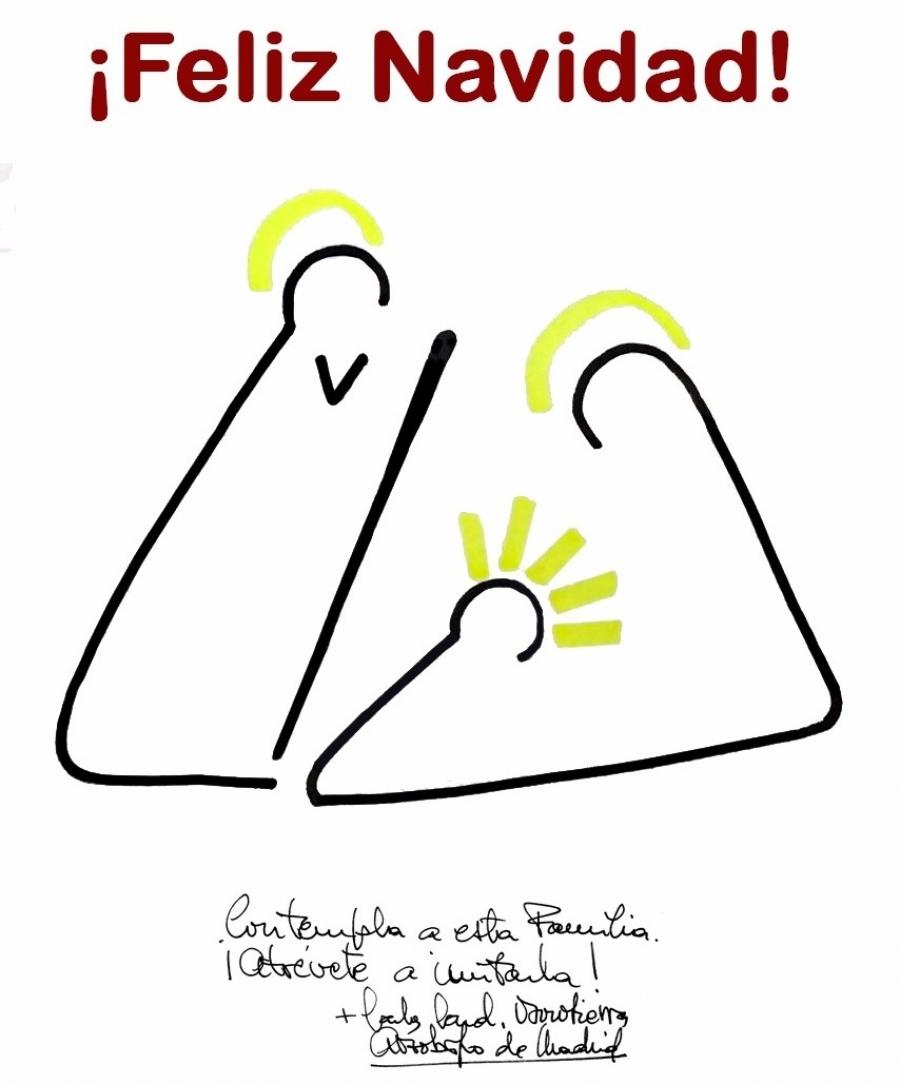 Valoración: Reparto del Cartel de Felicitación Navideña