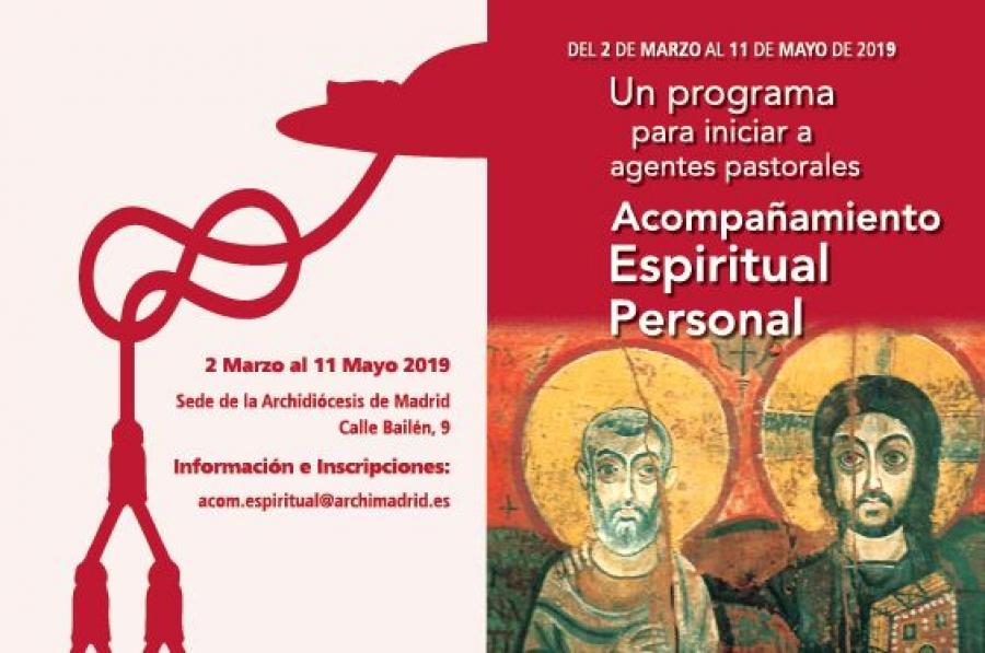 Programa Formación Agentes Pastorales - Acompañamiento Espiritual Personal