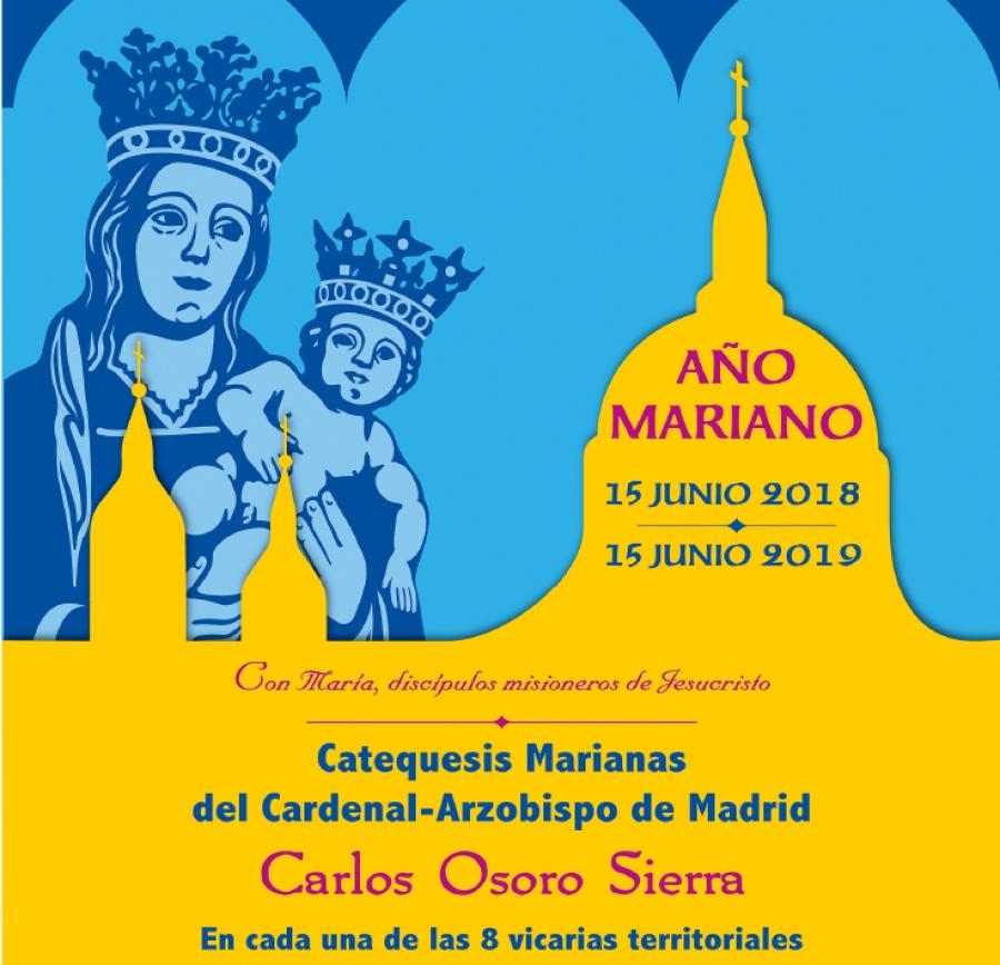 Ciclo de catequesis marianas de D. Carlos Osoro en las 8 Vicarías territoriales