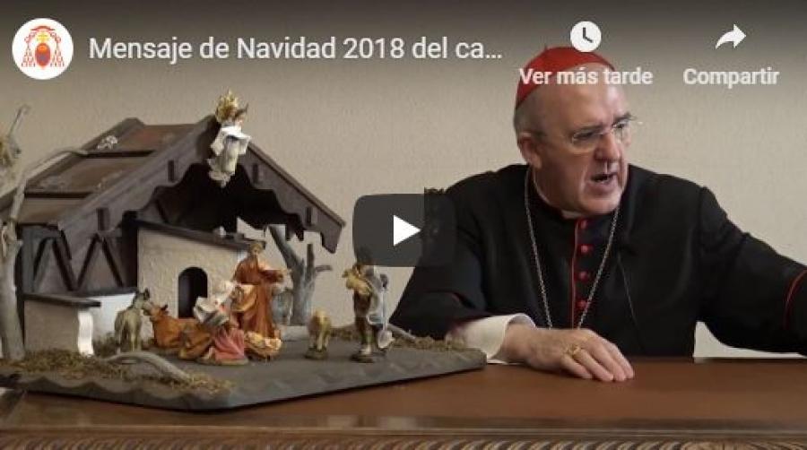 El cardenal Osoro anima a contemplar el belén para cambiar este mundo